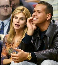 Alex Rodriguez, New York Yankees and his wife Cynthia