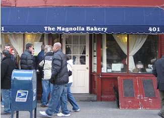 Magnolia Bakery, Greenwich Village, New York City, famous for cupcakes
