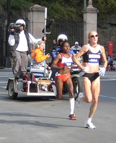 New York City Marathon Women's Frontrunners