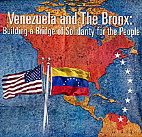 Venezuela and the Bronx. Brothers in arms.